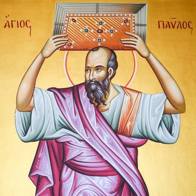 Icon of St Paul Apostolic